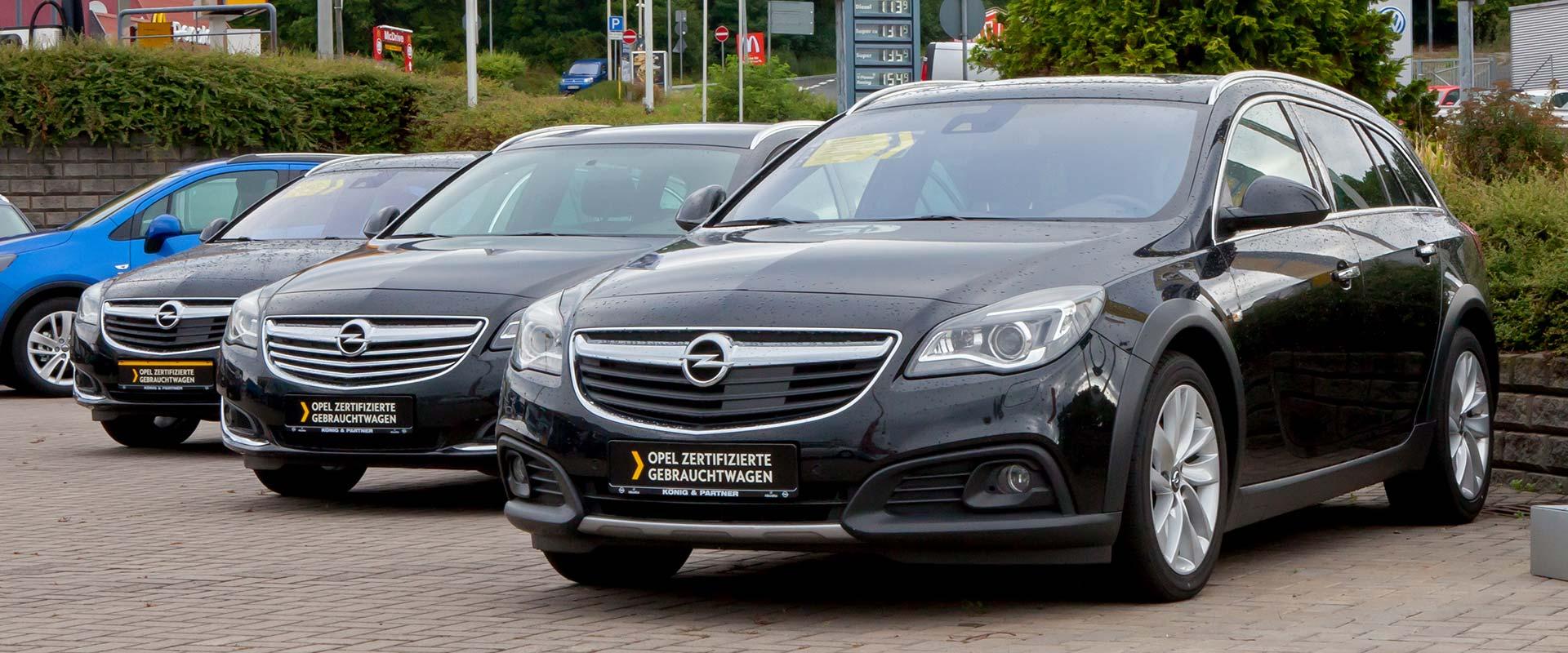 Opel zertifizierte Gebrauchtwagen
