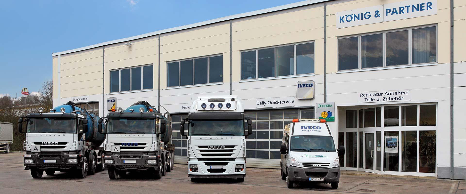 Lkw-Service und Anhänger-Service in Meiningen, Iveco Service-Partner