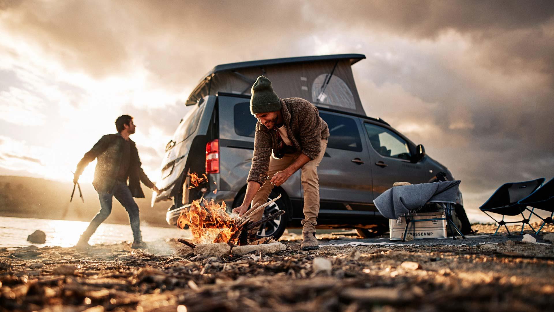 CROSSCAMP - Camper, Transporter, Familienfahrzeug