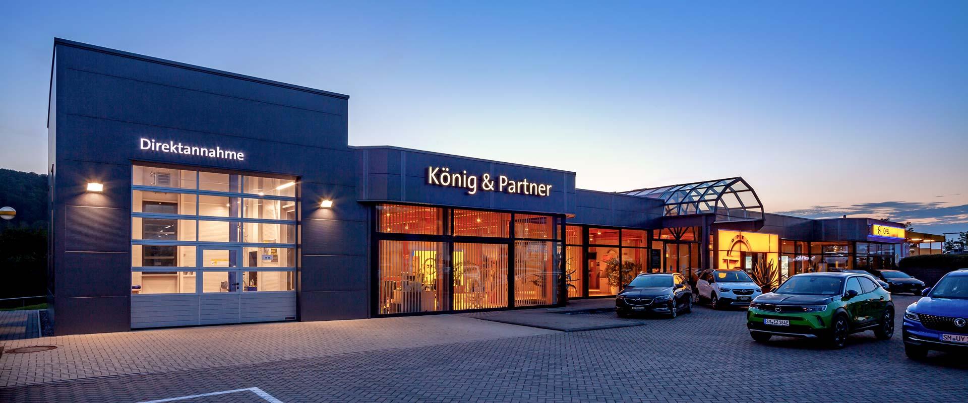 Autohaus König & Partner in Meiningen
