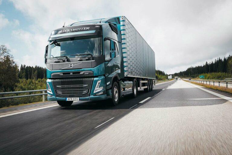 Volvo Trucks - Lackierung